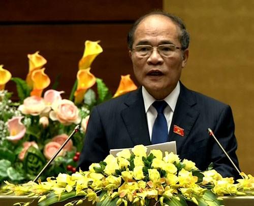 越南十三届国会十次会议闭幕 - ảnh 1