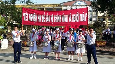 响应艾滋病防控国家行动月集会在北宁省举行 - ảnh 1