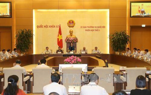 越南国会常委会向第14届国会第2次会议筹备工作提供意见 - ảnh 1