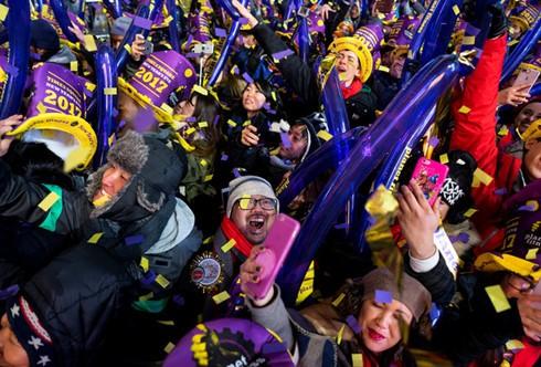 世界各地人民举行多项大型活动喜迎新年 - ảnh 1