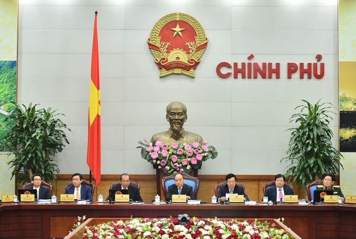 越南政府部署2017年经济社会任务 - ảnh 1