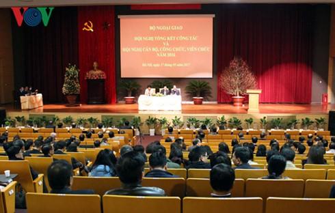 """2017年越南外交部以""""2017年APEC会议-提高对发展和融入国际的服务效果""""为竞赛主题 - ảnh 1"""