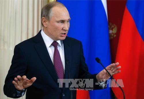 俄总统普京驳斥俄方收集特朗普黑材料的说法 - ảnh 1