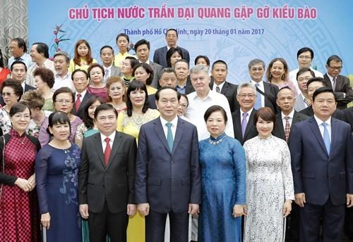 陈大光:同心协力建设日益富强的越南国家 - ảnh 1