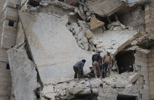叙利亚政府军夺回大马士革附近的重要地区 - ảnh 1