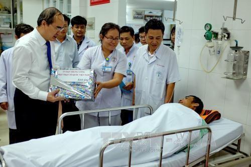 纪念2. 27越南医生节 多项活动举行 - ảnh 1