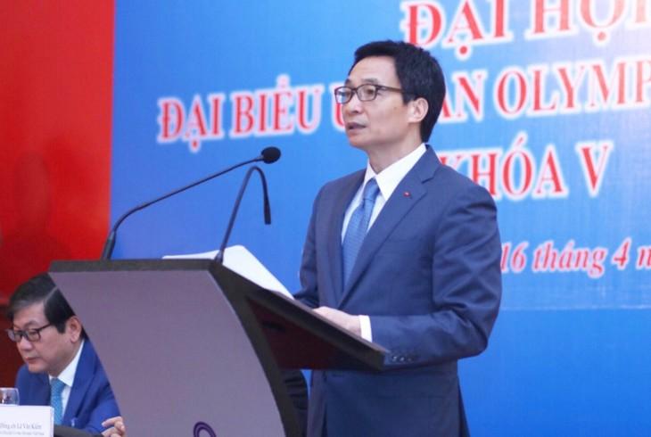 让奥林匹克精神深入越南体育部门的所有行动并推广到全社会 - ảnh 1