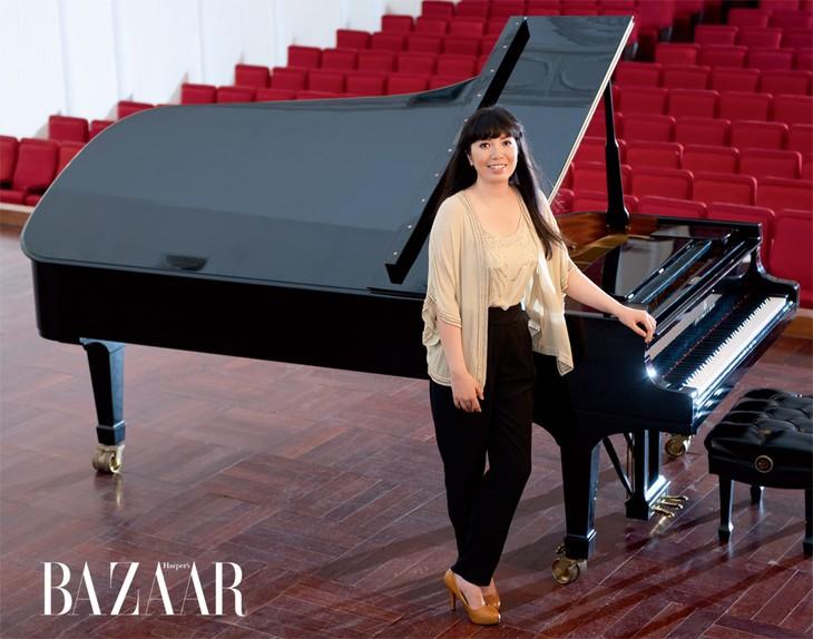 钢琴家碧茶将参加德沃夏克《第八交响曲》音乐晚会 - ảnh 1