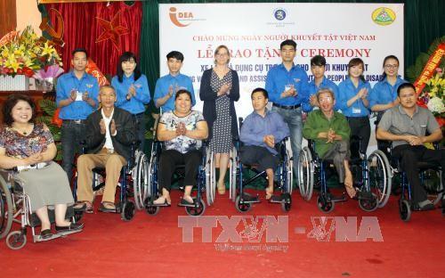 越南关心照顾残疾人 - ảnh 1