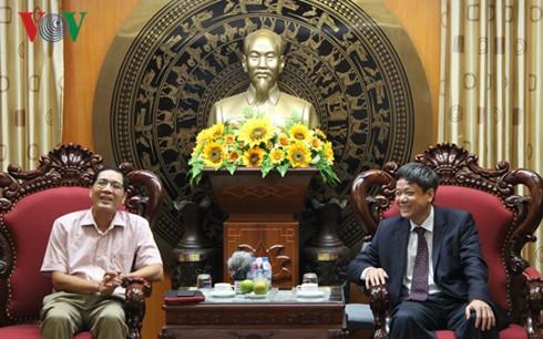 本台与越南驻埃及大使馆加强信息宣传工作配合 - ảnh 1