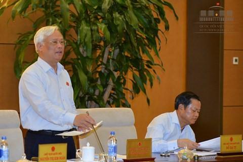 越南国会常委会第9次会议继续举行 - ảnh 1