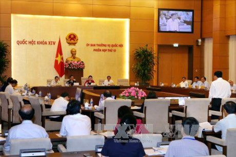 第十四届国会常委会第十三次会议向两项法律草案提供意见 - ảnh 1