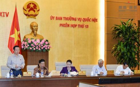 越南国会常委会向中央财政资金使用计划调整问题提供意见 - ảnh 1
