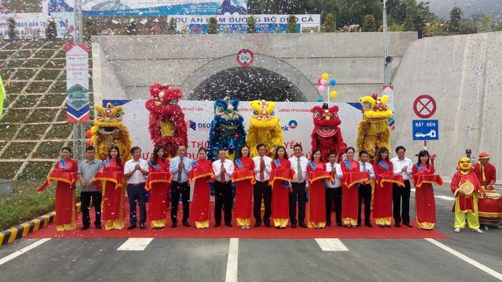 越南1A号国道上的大山隧道正式通车 - ảnh 1