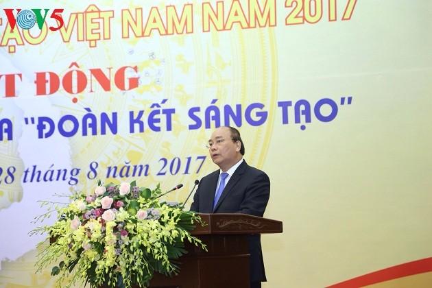 2017年越南创新黄皮书发布 - ảnh 1