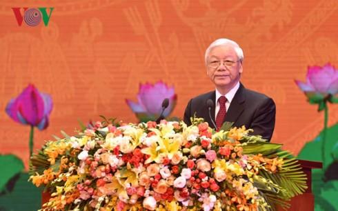 阮富仲总书记:越南革命的胜利与俄国十月革命的影响分不开 - ảnh 1