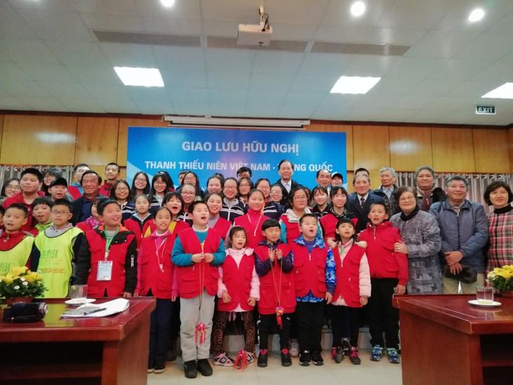 中国小记者代表团访越传承越中友谊 - ảnh 2