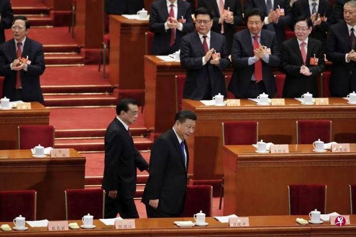 中国全国政协十三届一次会议开幕 - ảnh 1