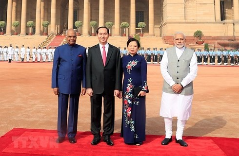 越南和印度发表联合声明 - ảnh 1