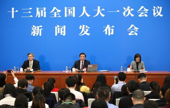 中国为第十三届全国人民代表大会第一次会议做好准备 - ảnh 1