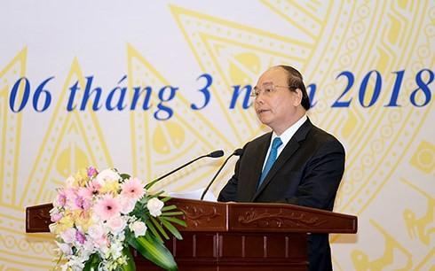 阮春福出席国家财政监督委员会成立10周年纪念仪式 - ảnh 1