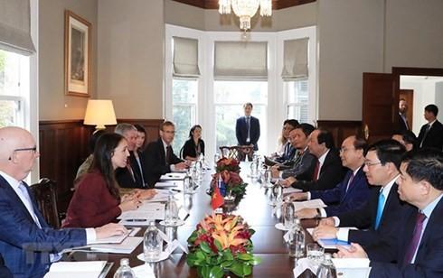 越南和新西兰面向战略伙伴关系 - ảnh 1