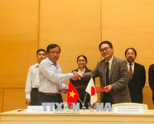日本向越南五个教育和医疗项目提供无偿援助 - ảnh 1
