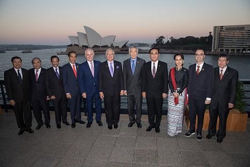 阮春福在东盟-澳大利亚特别峰会相关活动上发表重要讲话 - ảnh 1