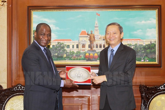 胡志明市希望推进与法语国家国际组织的合作 - ảnh 1