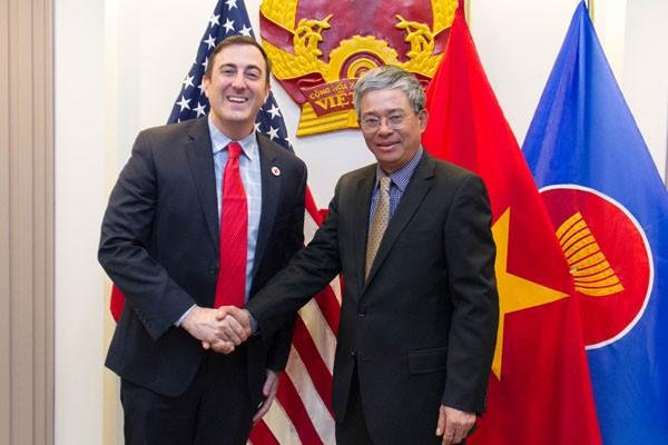 越南和美国加强人道主义领域合作 - ảnh 1
