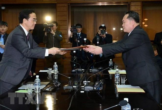 日本高度评价韩国为促进朝鲜半岛无核化进程所作出的努力 - ảnh 1