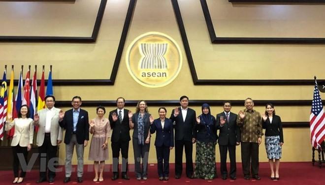 东盟与美国合作委员会第九次会议举行 - ảnh 1