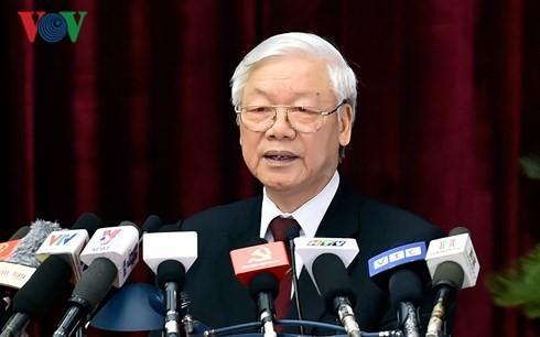 越南共产党第十二届中央委员会第七次会议闭幕 - ảnh 1