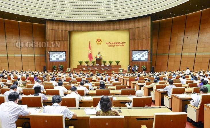越南国会继续讨论经济社会发展情况 - ảnh 1