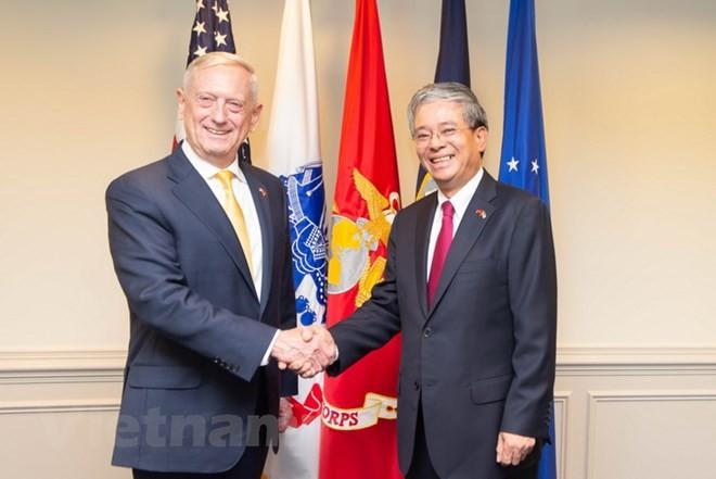 越南与美国在国防安全合作中取得多项重要进展 - ảnh 1
