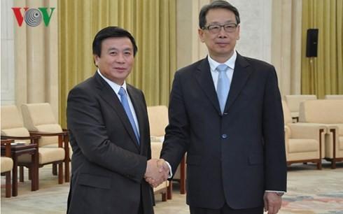 中国共产党领导人会见越南共产党代表团 - ảnh 1