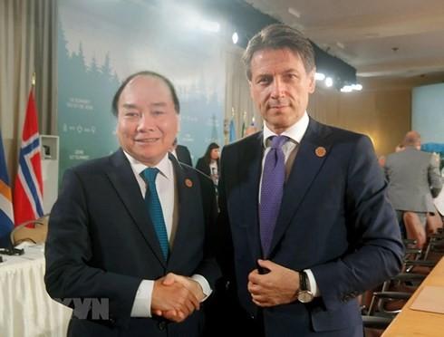 阮春福会见七国集团峰会与会各国和国际组织领导人 - ảnh 3
