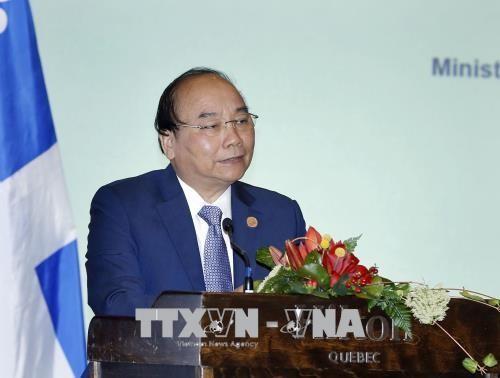 加拿大媒体:越南出席七国集团峰会扩大会议打开了建设与加拿大经济与地缘战略关系的机会 - ảnh 1