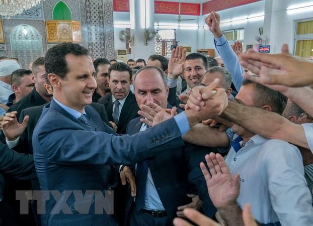 巴沙尔.阿萨德:要基于叙人民的愿望修改宪法 - ảnh 1