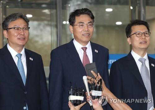 韩朝讨论对接铁路问题 - ảnh 1
