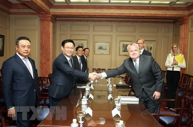 王庭惠:美国支持越南独立与繁荣 - ảnh 1