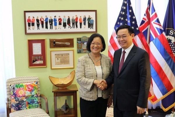 王庭惠:美国支持越南独立与繁荣 - ảnh 3