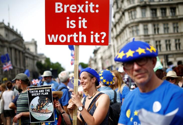 英脱欧协议:英国央行对达不成协议的可能发出警告 - ảnh 1