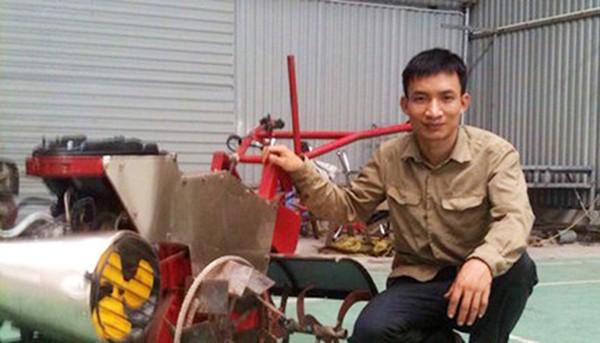 研制多功能农业机械服务农民的谢廷辉 - ảnh 1