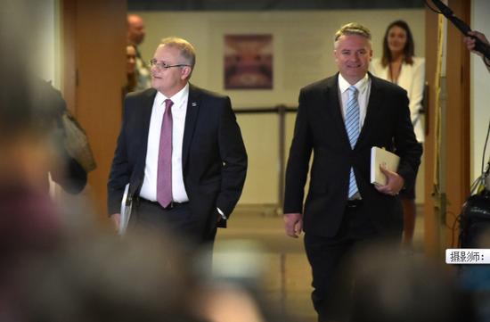 澳大利亚新总理莫里森公布新内阁名单 - ảnh 1