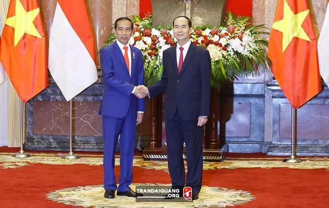 越南和印度尼西亚就加强战略伙伴关系发表联合声明 - ảnh 1