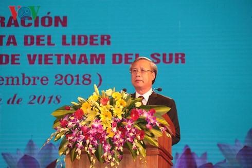 古巴领袖菲德尔·卡斯特罗对越南南方解放区进行访问45周年纪念仪式举行 - ảnh 1