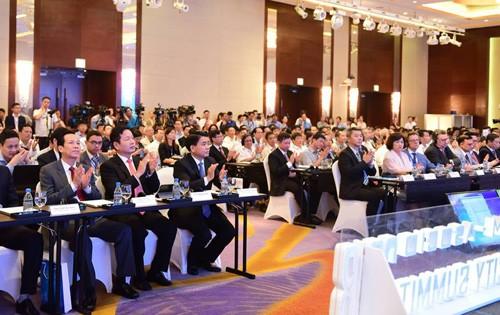 智慧城市国际会议在河内开幕 - ảnh 1