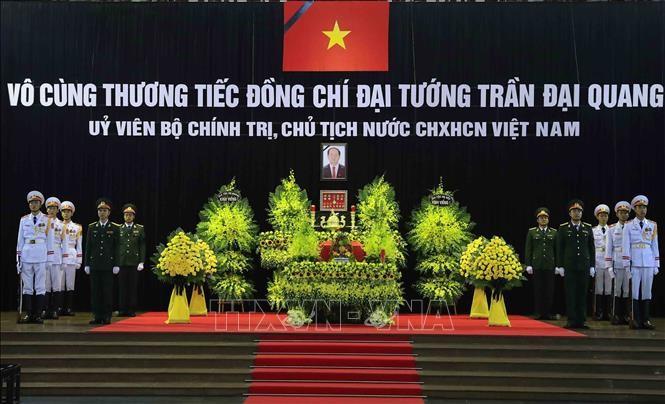 越南国家主席陈大光吊唁仪式正式举行 - ảnh 1