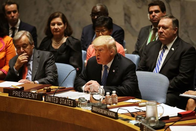 特朗普指责中国设法干涉美中期选举   - ảnh 1